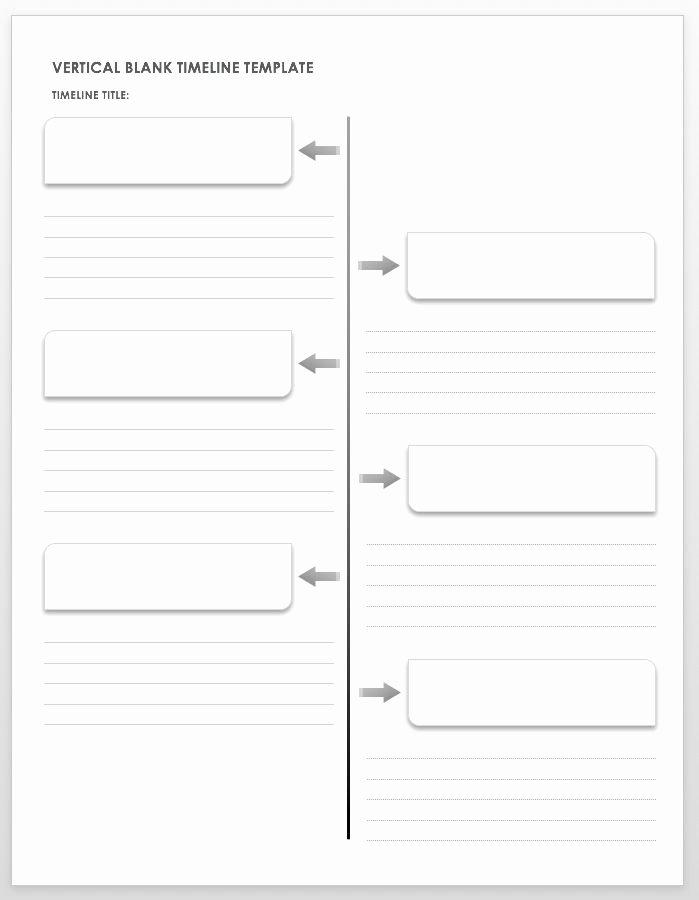Timeline Templates for Kids Unique Free Blank Timeline Templates
