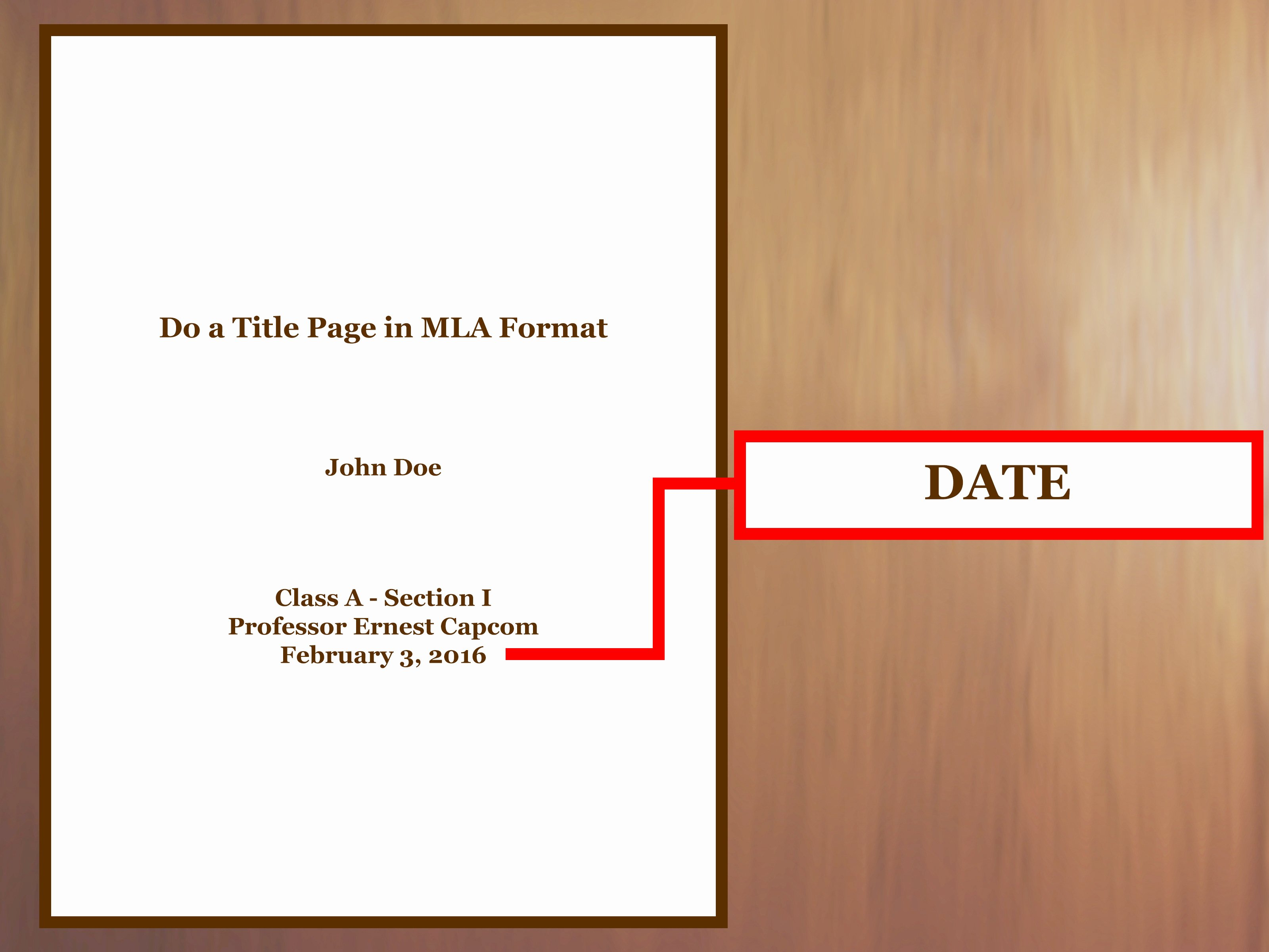 Title Page Mla Template Elegant How to Do A Title Page In Mla format with Examples Wikihow