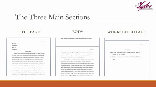 Title Page Mla Template Fresh Mla Paper format