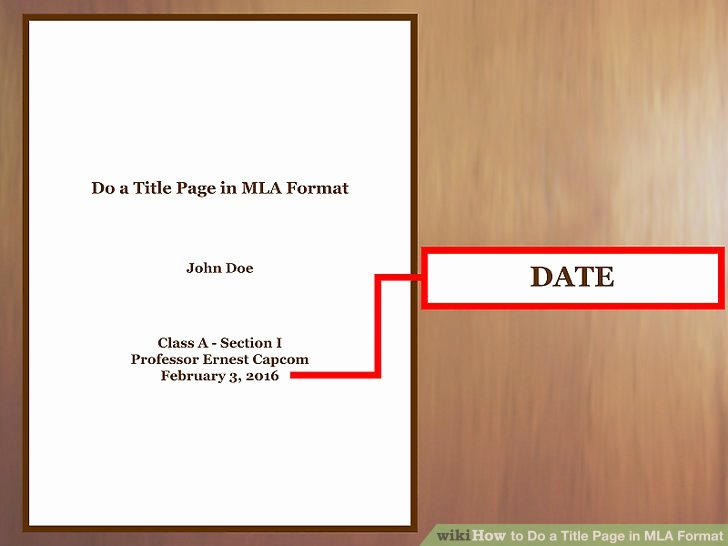 Title Page Mla Template Unique How to Do A Title Page In Mla format with Examples Wikihow