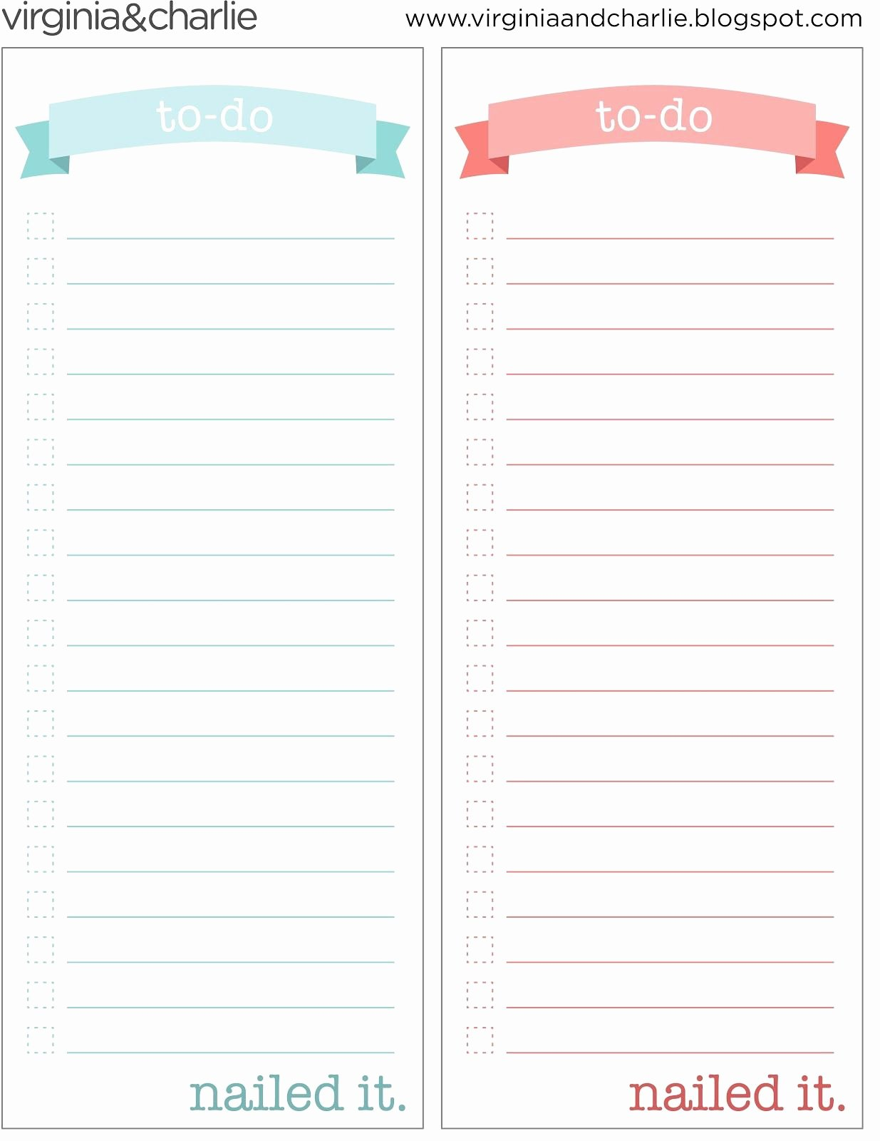 To Do List Template Pdf Elegant Things to Do Template Pdf
