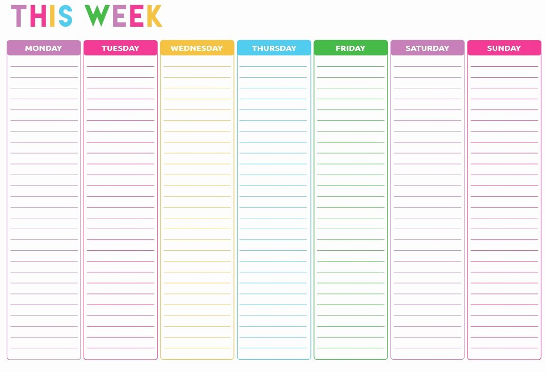 To Do List Template Pdf Luxury 10 Free Sample Weekly to Do List Templates Printable Samples