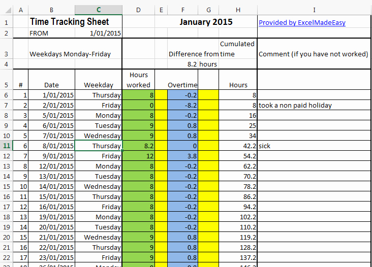 Tracking Volunteer Hours Template New Excel Template Time Tracking Sheets Template Free by