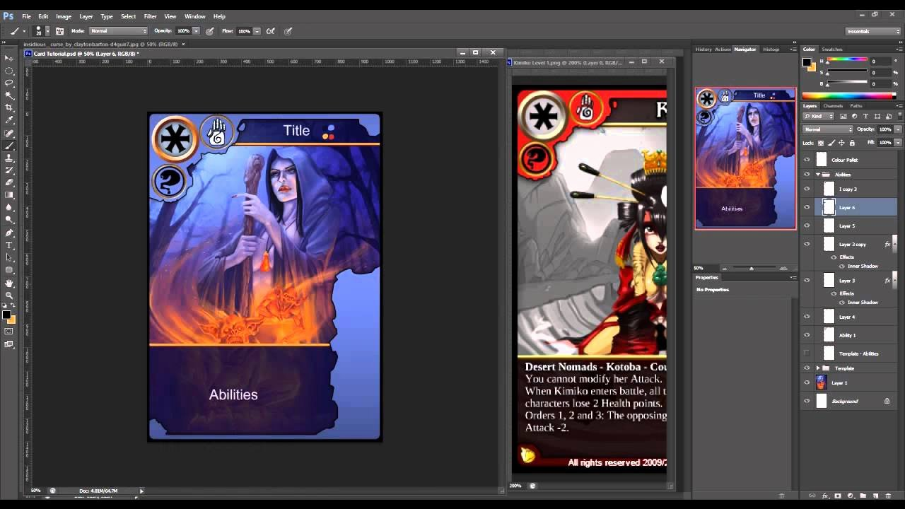Trading Card Template Photoshop Awesome How to Create Trading Cards In Shop