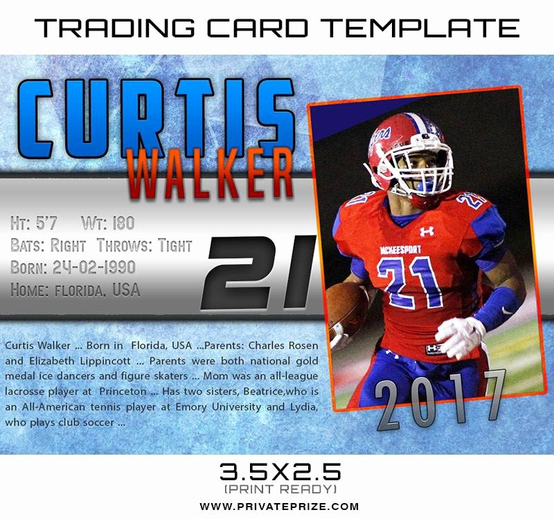 Trading Card Template Photoshop Best Of Curtis Sports Trading Card Shop Template