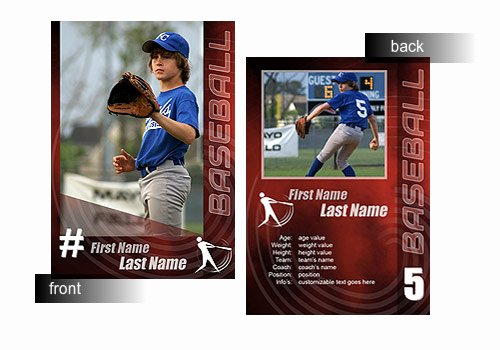 Trading Card Template Photoshop Lovely 15 Psd Football Trading Card Baseball Trading