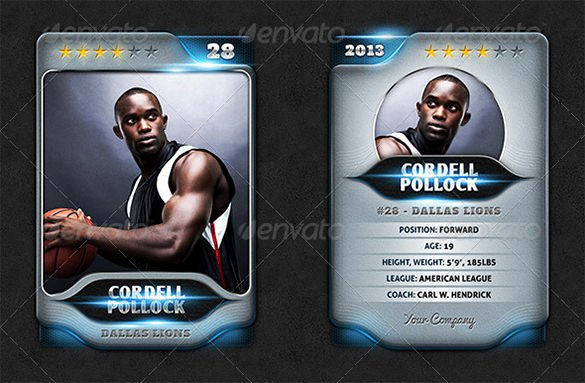 Trading Card Template Photoshop New 33 Trading Card Template Word Pdf Psd Eps
