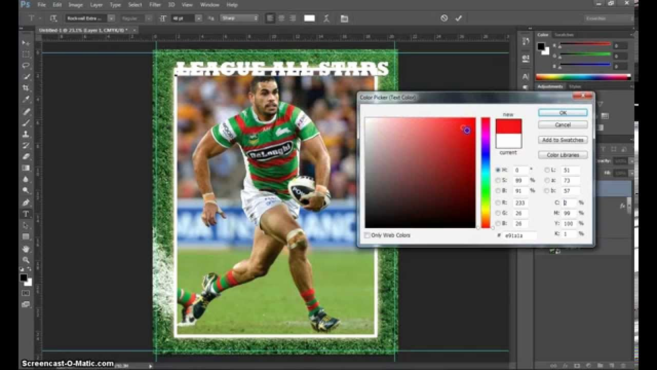 Trading Card Template Photoshop New Make A Trading Card In Adobe Shop Part 1