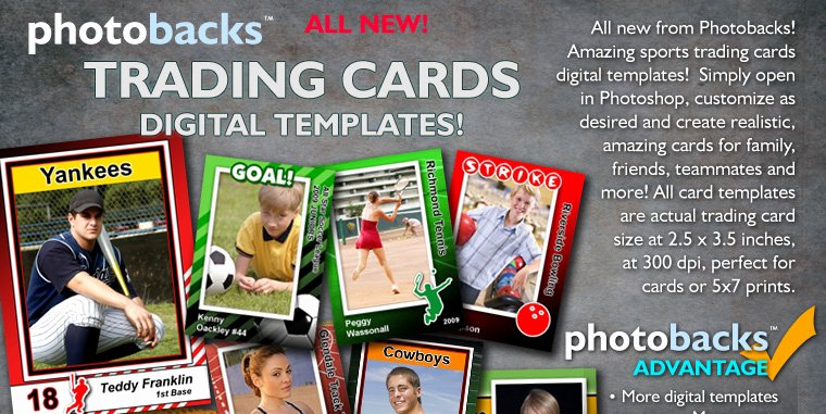 Trading Card Template Photoshop Unique 17 Sports Psd Templates for Graphers Free