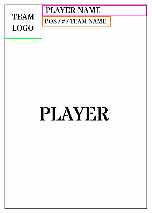 Trading Card Template Word Inspirational Trading Card Template