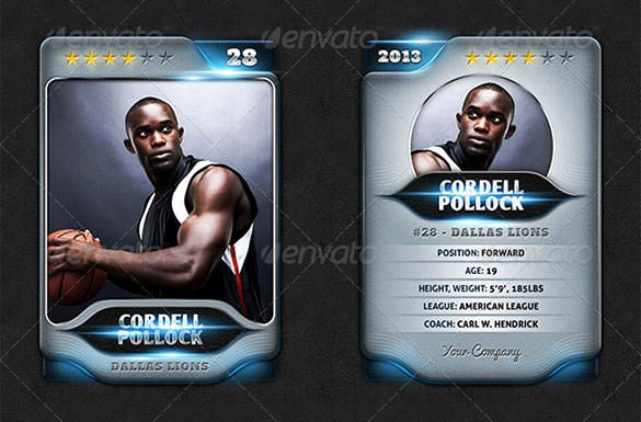 Trading Card Template Word Lovely 83 Card Templates Doc Excel Ppt Pdf Psd Ai Eps