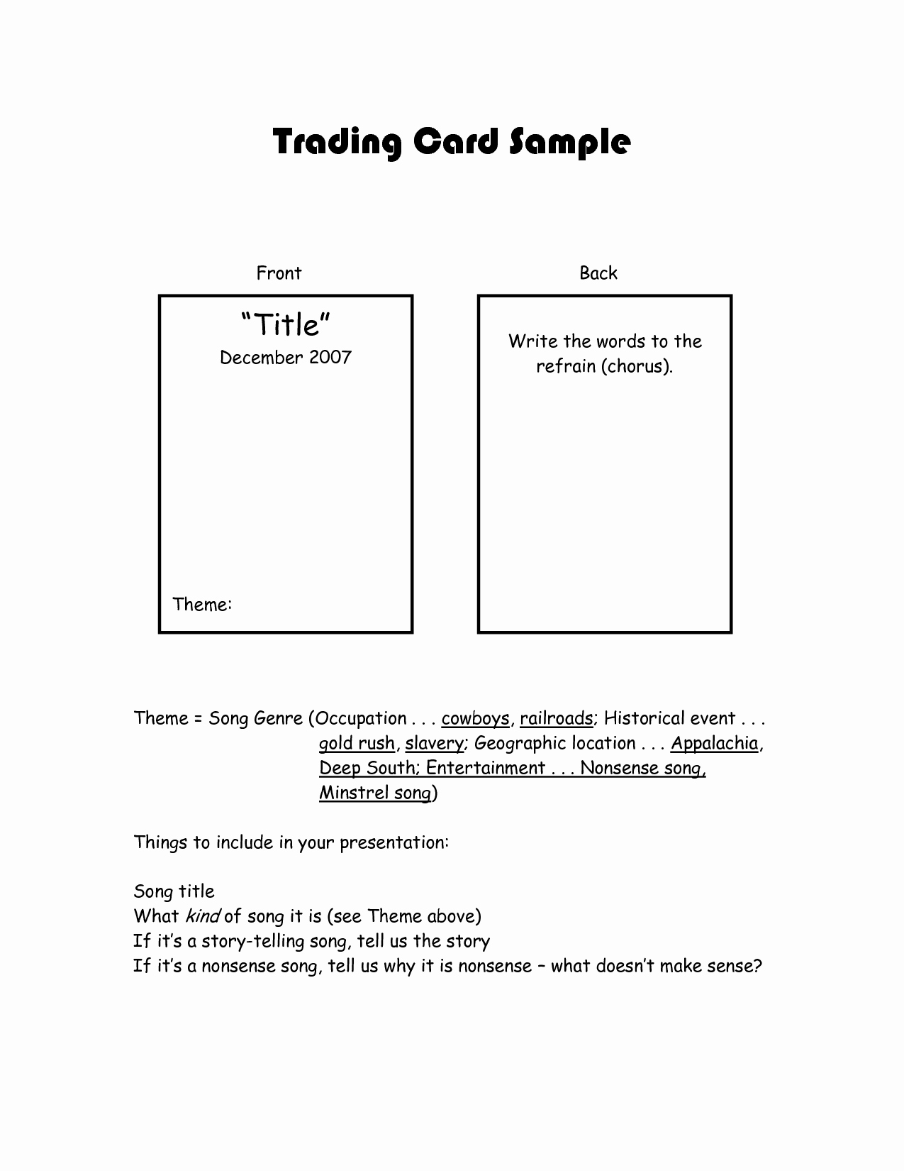 Trading Card Template Word New Best S Of Trading Card Template for Word Trading