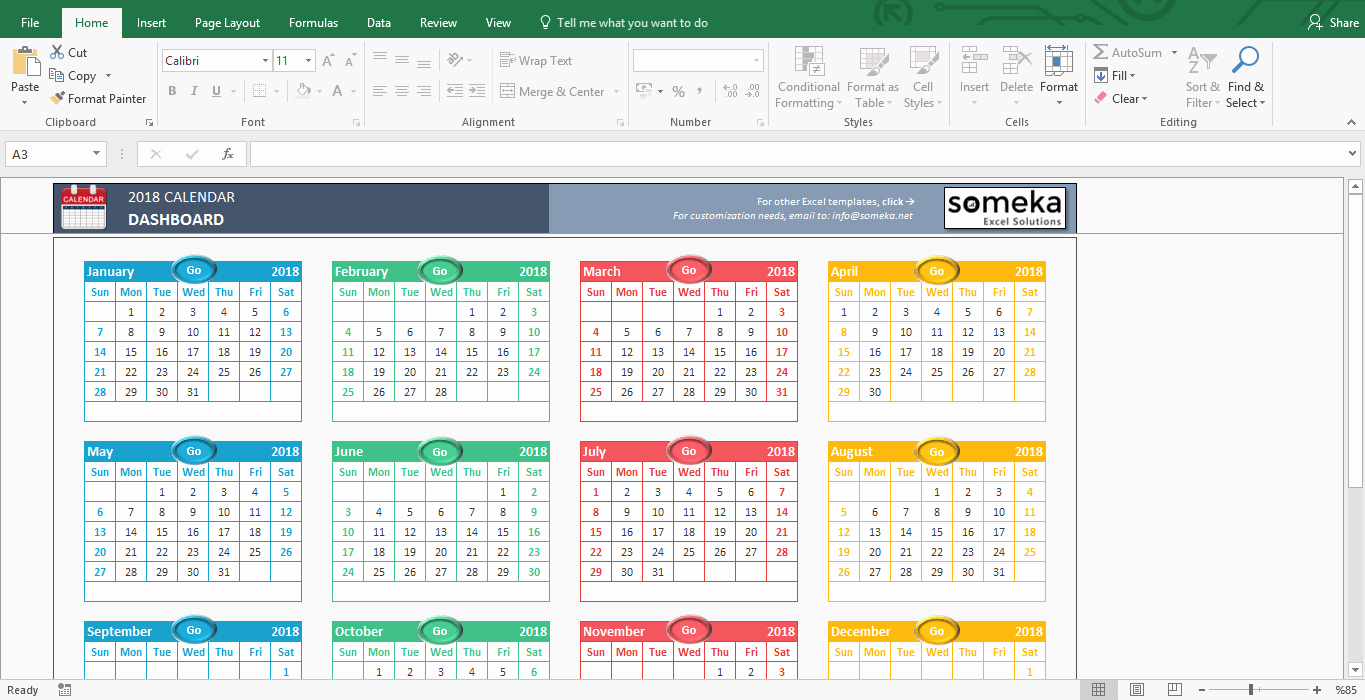 Training Calendar Template Excel Luxury Excel Calendar Template 2019 Free Printable Calendar