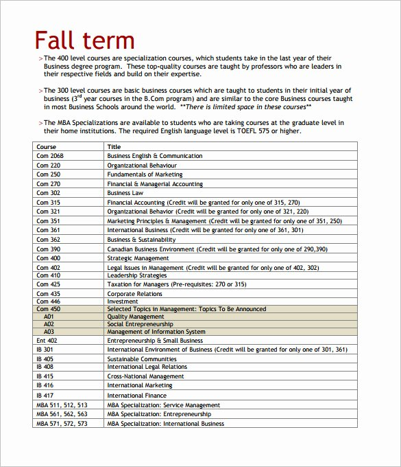 Training Course Outline Template Best Of 14 Training Course Outline Template Doc Pdf