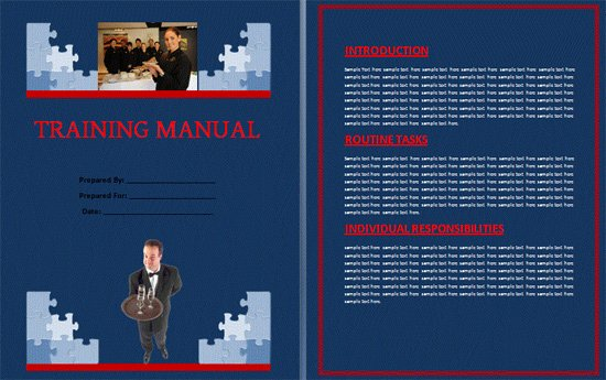 Training Manual Template Word Fresh Boring Work Made Easy Free Templates for Creating Manuals