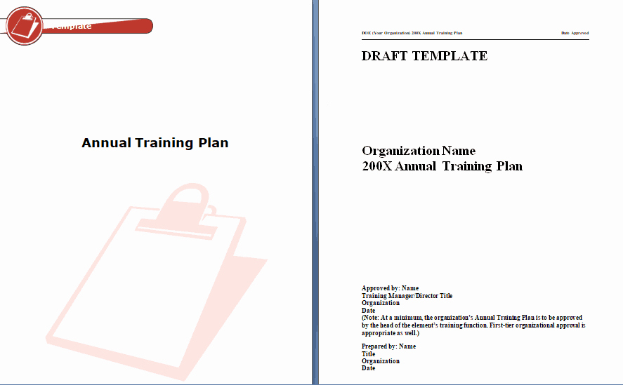 Training Manual Template Word Inspirational 60 Training Manual Templates Training Plans Word Pdf