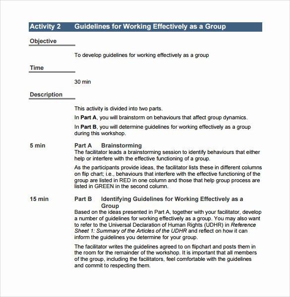 Training Manual Template Word New 11 Training Manual Samples Pdf