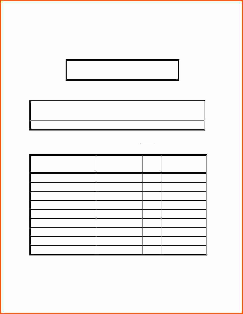 Training Sign Off Sheet Templates Unique 9 Sign Off Sheet Template