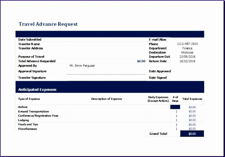 Travel Request form Template Awesome Puter Service Quotation Yriwr Inspirational Ms Excel