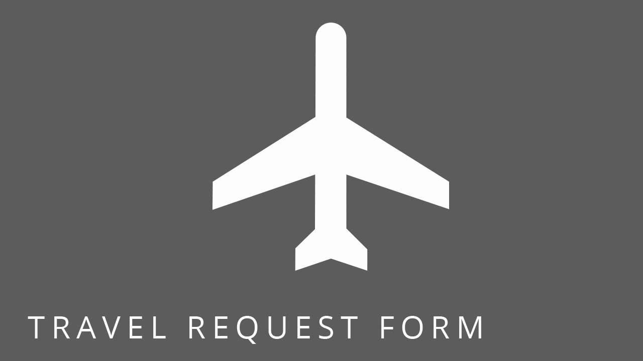 Travel Request form Template Luxury Point Templates Employee Travel Request form