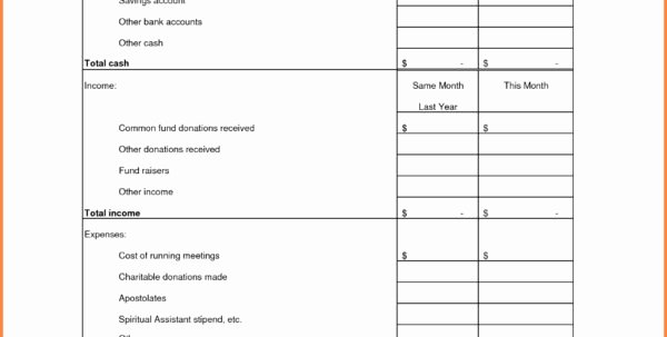 Treasurer Report Template Excel Lovely Treasurer S Report Excel Spreadsheet Google Spreadshee