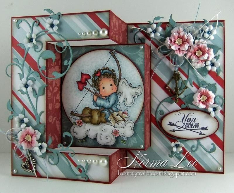 Tri Fold Card Templates Beautiful From My Craft Room Tri Fold Card Template