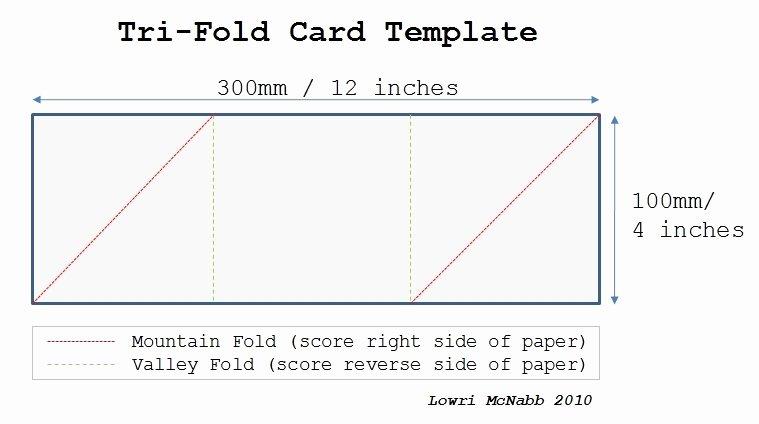 Tri Fold Card Templates Elegant Christmas Tri Fold Cards