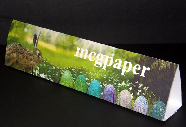table tent cards horizontal format