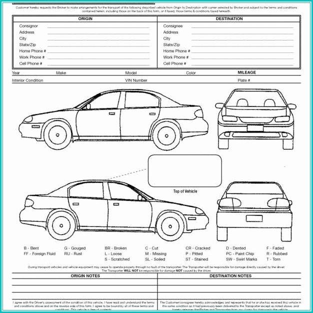 Truck Inspection form Template Elegant Vehicle Inspection form Template form Resume Examples