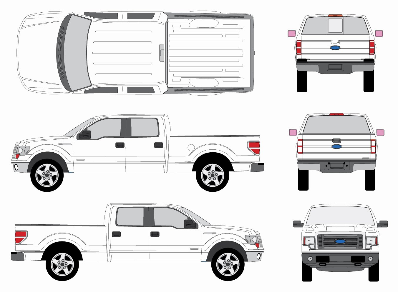Truck Inspection form Template Luxury 25 Of Crew Cab Truck Diagram Template