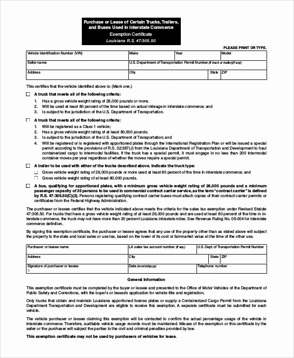 Truck Lease Agreement Template Best Of Samples Of Lease Agreement 9 Examples In Word Pdf