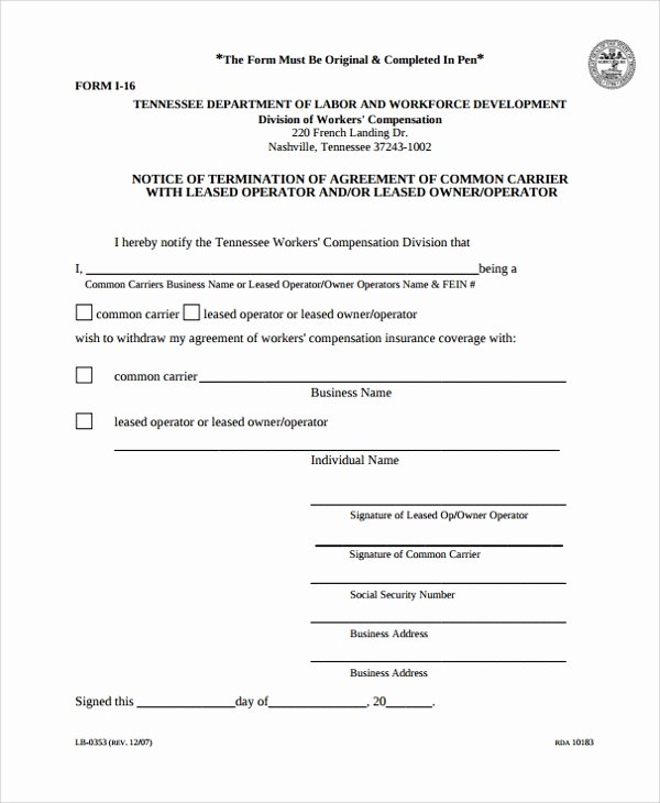 Truck Lease Agreement Template Luxury 11 Owner Operator Lease Agreements Word Pdf