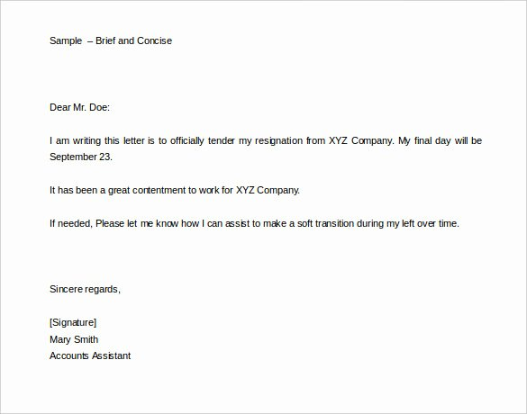 Two Weeks Notice Template Word New 34 Two Weeks Notice Letter Templates Pdf Google Docs