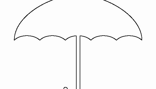 Umbrella Template for Preschool Luxury Umbrella Pattern Use the Printable Outline for Crafts