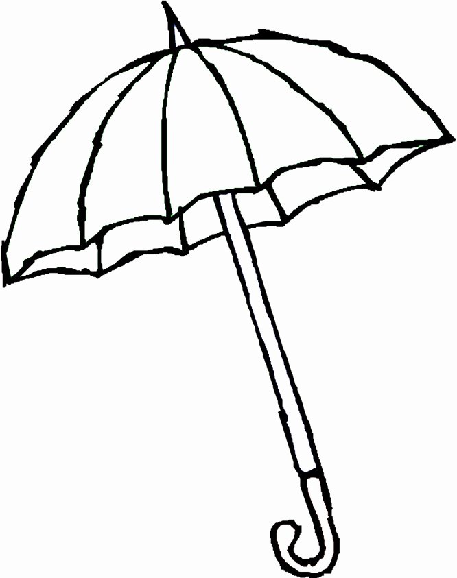 Umbrella Template for Preschool New Umbrella Templates Printable Clipart Best