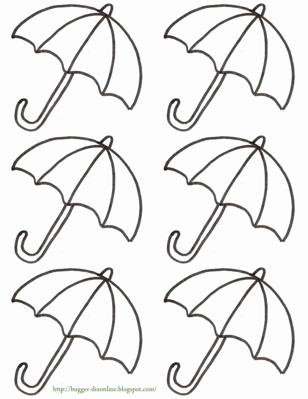 Umbrella Template for Preschool New Your Guests Will Be Delightfully Surprised What they Find