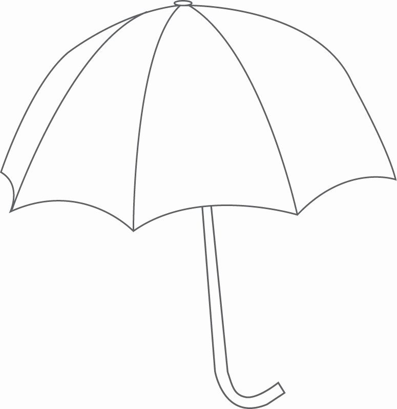 Umbrella Template for Preschool Unique Free Printable Umbrella Template Download Free Clip Art