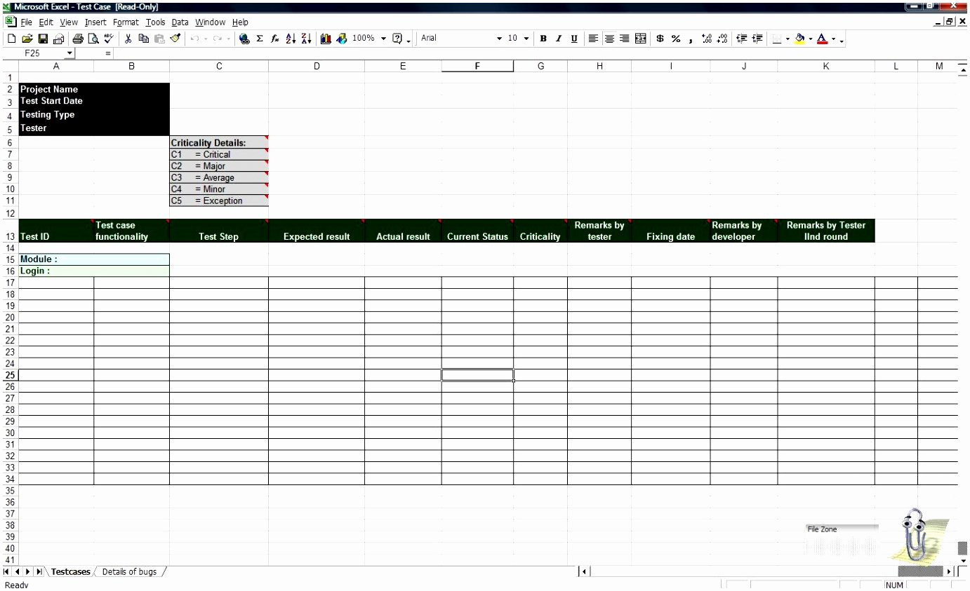 Use Case Template Excel Beautiful 5 Test Cases Template Excel Eiteu