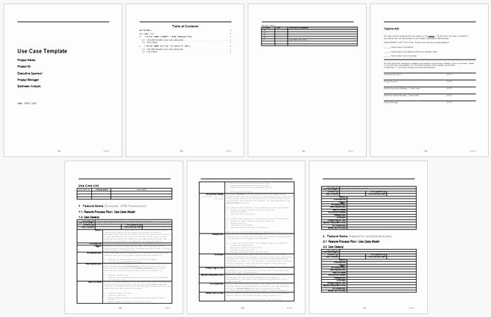 Use Case Templates Word Best Of Best Use Case Templates and Examples to Write Your Own Use