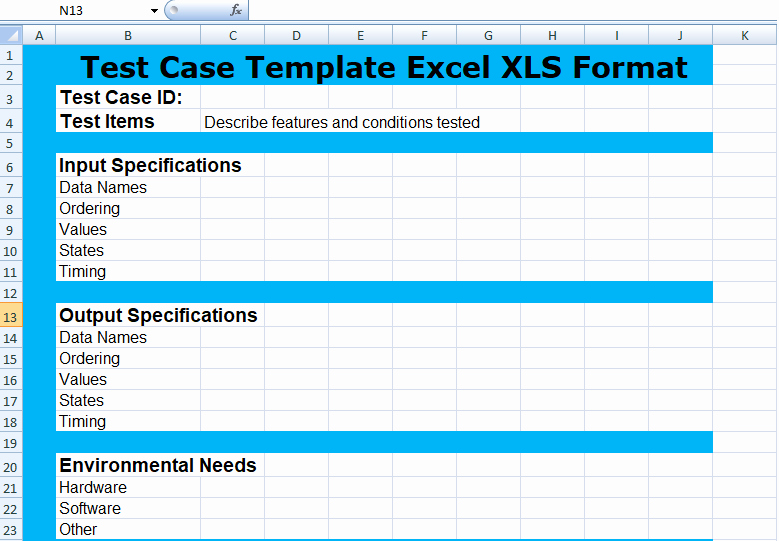 Use Cases Template Excel Luxury Project Management Test Case Template Excel Xls