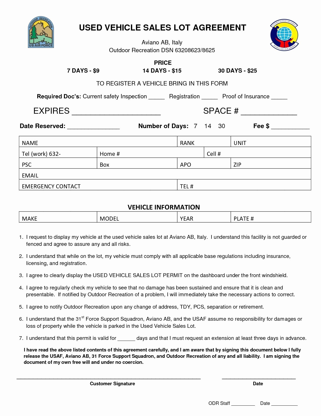 Used Car Contract Template Best Of 25 Fast Vehicle Sale Agreement Template Vi S