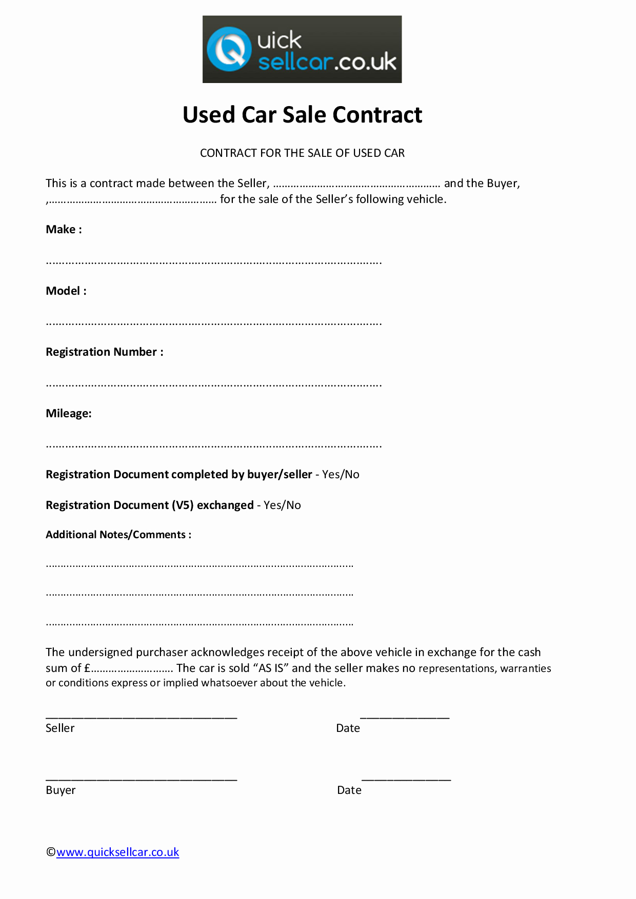 Used Car Contract Template Unique Agreement Template Category Page 13 Efoza