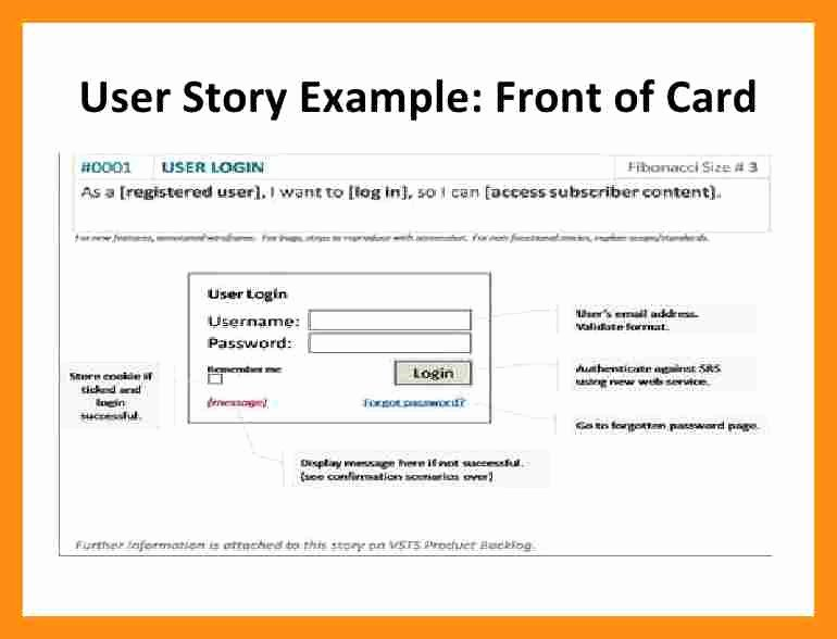 User Story Template Excel Awesome User Story Template Word Actor Resumed – Kukkoblock Templates