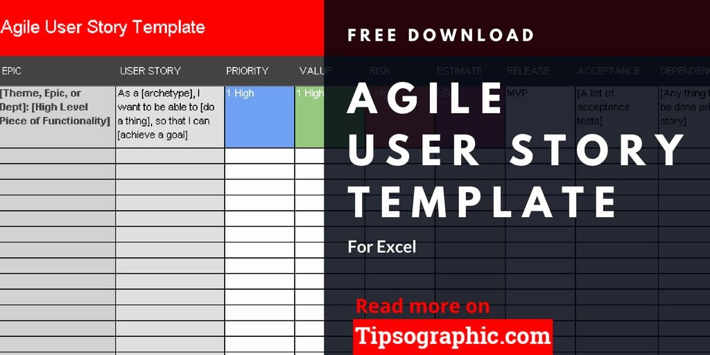 User Story Template Excel Beautiful Agile User Story Template for Excel Free Download