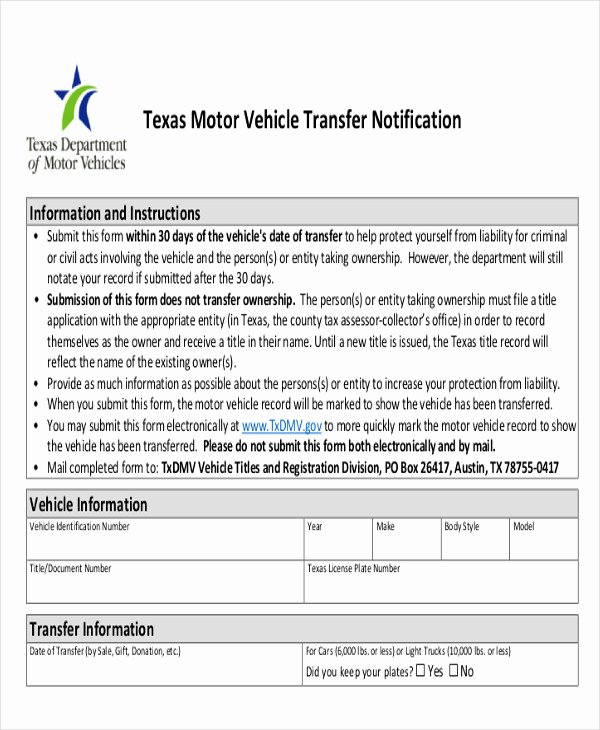 Vehicle Release form Template Inspirational Sample Dmv Release form 10 Examples In Word Pdf
