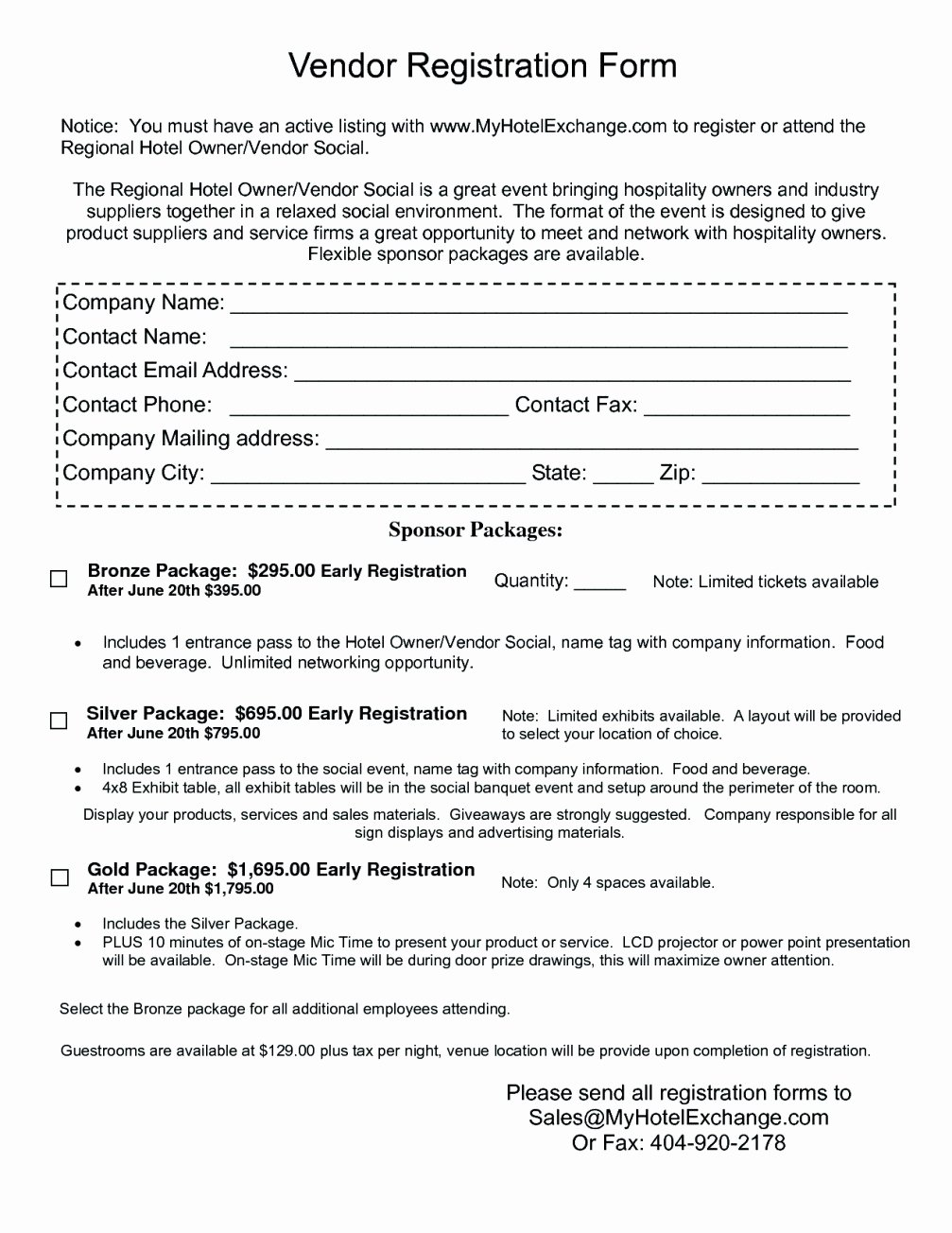 Vendor Application form Template Luxury 12 13 Vendor Sign In Sheet Template