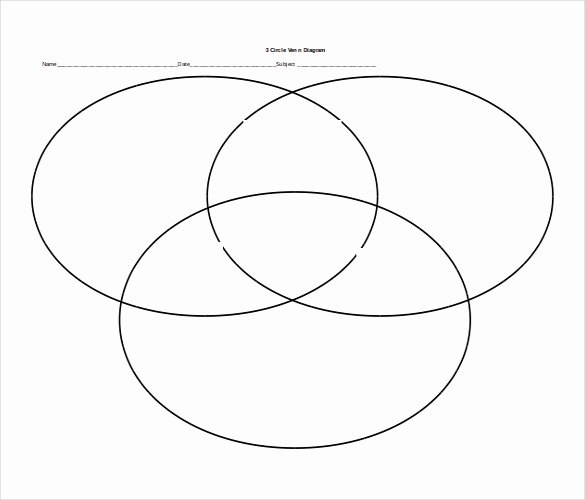 Venn Diagram Template Word Luxury 11 Free Ms Word 2010 Diagram Templates Download