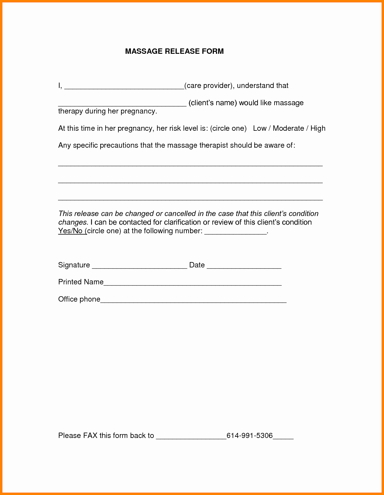 Video Release forms Template Inspirational 9 Release form Template
