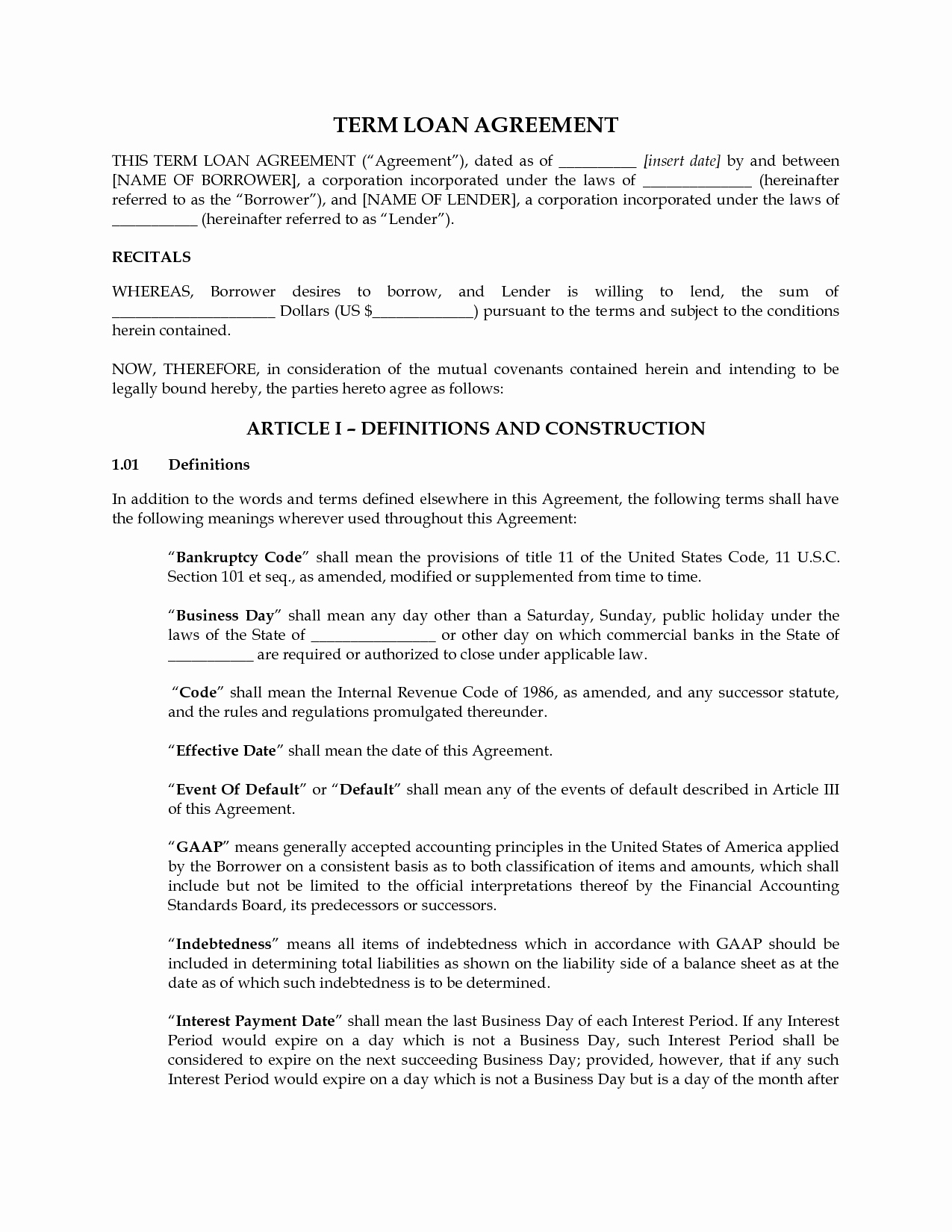 Videography Contract Template Free Lovely Personal Loan Contract Agreement Template Get My Free