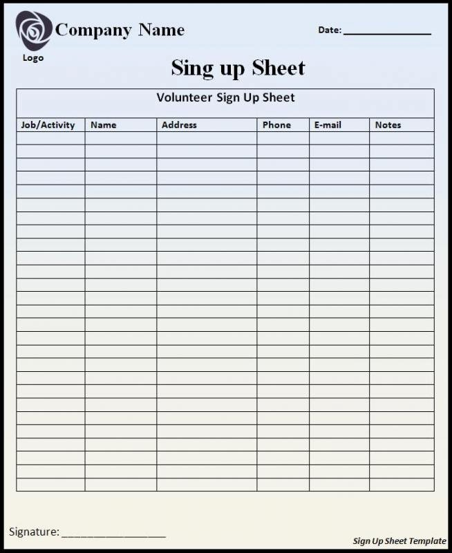 Visitor Sign In Sheet Template New Visitor Sign In Sheet Template
